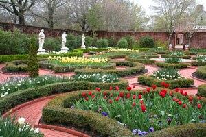 Tryon Palace - Maude Moore Latham Memorial Garden
