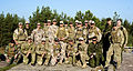 Latvian, Lithuanian, Estonian and U.S. joint terminal attack controllers pose for a photo in Adai Latvia, June 3, 2013, during a live-fire exercise in preparation for Saber Strike 2013 130603-A-YT363-006.jpg