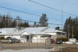 Municipal offices in Point Alexander
