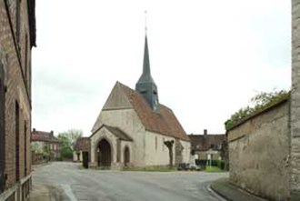 Le Bignon-Mirabeau - The church in Le Bignon-Mirabeau