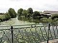 Le Chevain (Sarthe) La Sarthe en amont.jpg