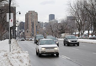 Park Avenue (Montreal) one of central Montreals major north-south streets