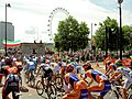 Le Tour De France, enters onto the Embankment. - geograph.org.uk - 490223.jpg