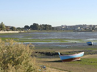 Seixal - A view of the Tagus River estuary that supports the economic and social life of the municipality
