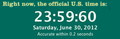 Leap Second - June 30, 2012.png
