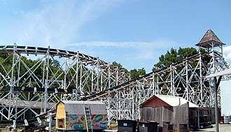 Leap-The-Dips - Image: Leap The Dips (Lakemont Park)