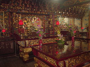 Taichung - Lecheng Temple, built during the Qing Dynasty