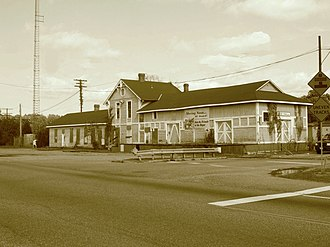 Lee Hall, Virginia - Image: Lee Hall Station, Newport News, VA