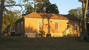 Legg House (Bloomington, Indiana) - Western side of the house
