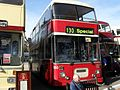 Leicester City Transport bus 150 (C100 UBC), Showbus rally 2009.jpg