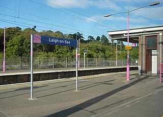 Leigh-on-Sea railway station Railway station in Essex, England