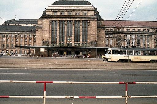 Leipzig Hauptbahnhof 1985