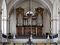 Leopoldstadt (Wien) - Nepomukkirche, Orgel.JPG