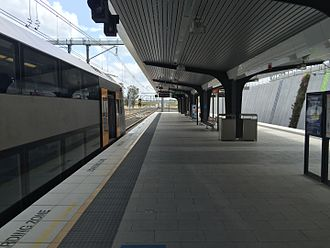 Leppington railway station - Leppington Station Platform 2