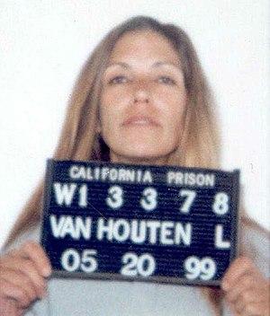 Leslie Van Houten - Mug shot taken in 1999