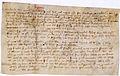 Lettre autographe de Guillaume de Nogaret à Etienne de Suisy 1 - Archives Nationales - AE-II-1713.jpg