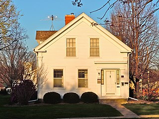 Levi P. Grinnell House historic dwelling located in Grinnell, Iowa, United States