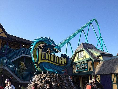 leviathan roller coaster - HD1024×768