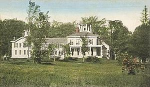 New Hampton, New Hampshire - Image: Lewis Mansion, New Hampton, NH