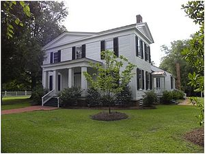 National Register of Historic Places listings in Duplin County, North Carolina - Image: Liberty Hall Restoration