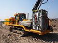 Liebherr SR714 welding tractor at Hoofddorp welding gaspipes, pic9.JPG