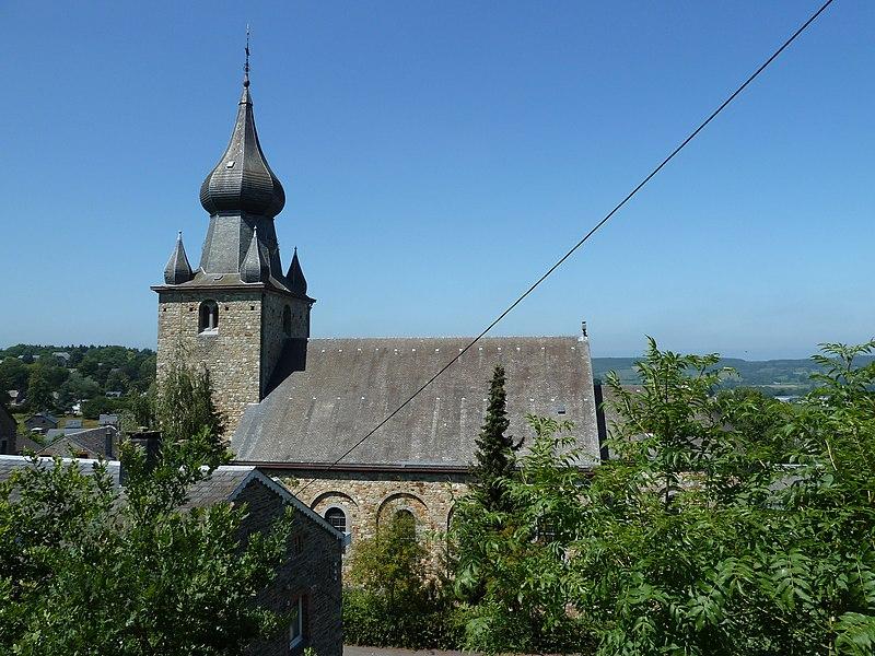L'église Saint-André, Lierneux, Belgique