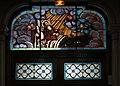 Lille Eté2016 Église Saint-Denis d'Hellemmes, vitrail du portail.jpg