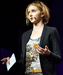 Lily Cole, London, 6 June 2013 (cropped).jpg