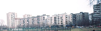 Liman, Novi Sad - Liman II, Tsar Lazar Boulevard