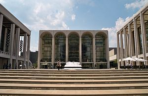 Lincoln Center for the Performing Arts - Main plaza at the Center