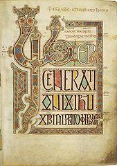 Ewangeliarz z Lindisfarne