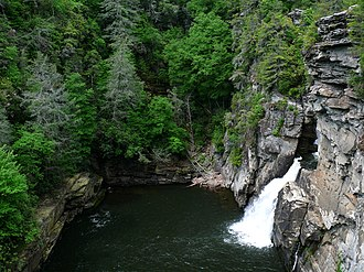 Linville Falls - Image: Linville Falls 27527 2