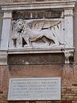 Lion on east wall arsenale rio dl gorne.JPG