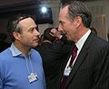 Lionel Barber, FT editor & James Gorman, chairman and CEO, Morgan Stanley (8415175280).jpg