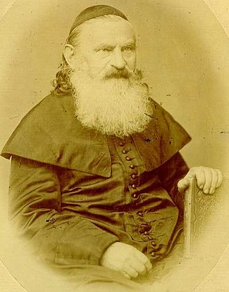Schism in Hungarian Jewry - Rabbi Leopold Löw.