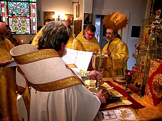 Anaphora (liturgy) - Anaphora in the Byzantine Rite