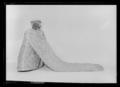 Liv till Sofia Magdalenas bröllopsklänning, robe de cour - Livrustkammaren - 26195.tif