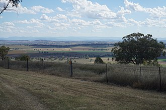 Liverpool Plains - View out over the Liverpool Plains from near Quirindi