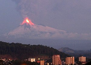 Ring of Fire - Llaima's 2008 eruption