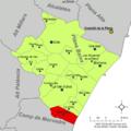 Localització d'Almenara respecte de la Plana Baixa.png