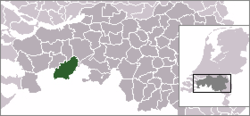 Location of Zundert