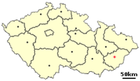 Location of Czech city Vsetín.png