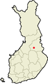 Location of Kajaani in Finland.png