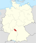 Locator map TBB in Germany.svg