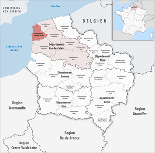 Arrondissement of Boulogne-sur-Mer Arrondissement in Hauts-de-France, France