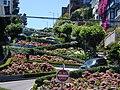 Lombard St @ 吾子もまた 花に埋もれて 七曲がる - panoramio.jpg