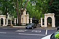 London - Notting Hill Gate - View SSE on Entrance Gate to Kensington Palace Gardens.jpg