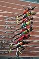 London 2012 Olympic 100m final start.jpg