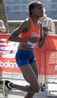 Brigid Kosgei Kenyan long-distance runner