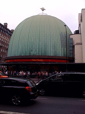 London Planetarium - The former Planetarium, showing Tussaud's branding
